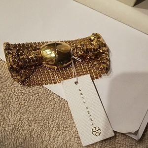 Trina Turk Midnight Studio Chainmail bracelet